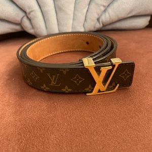 Louis Vuitton Monogram Mini Belt 25MM